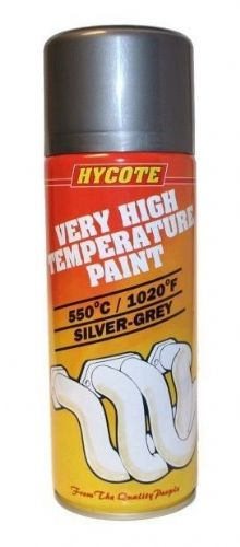 Very High Temperature Paint VHT Hycote Silver/Grey